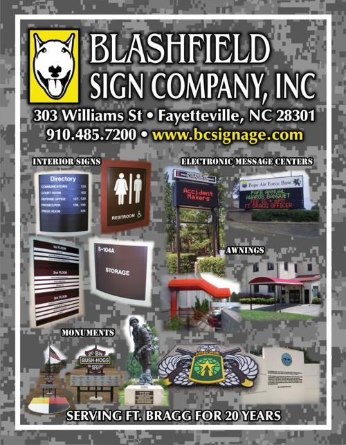 Blashfield Sign Company - Download Military Sign Brochure